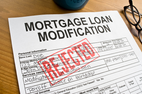 denied mortgage modification