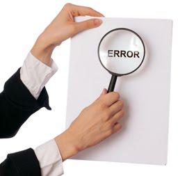 credit report error